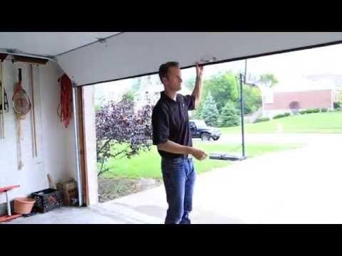 How To Manually Open Your Garage Door Clopay Youtube Garage