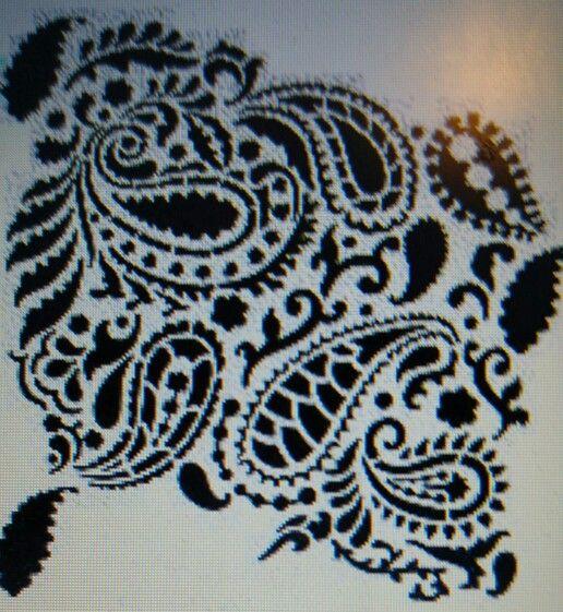 Psisley stencil