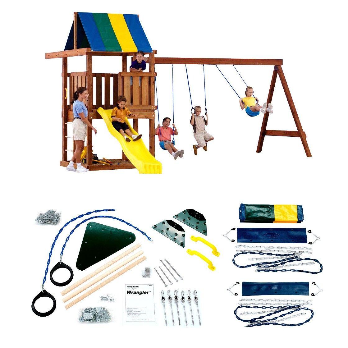 SwingNSlide Wrangler DIY Play Set Hardware Kit