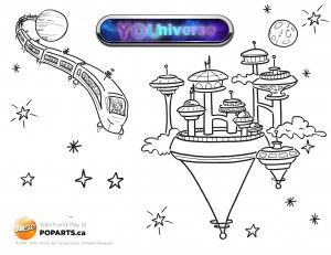 #Colour along with this Fridays #YOUniverse episode!