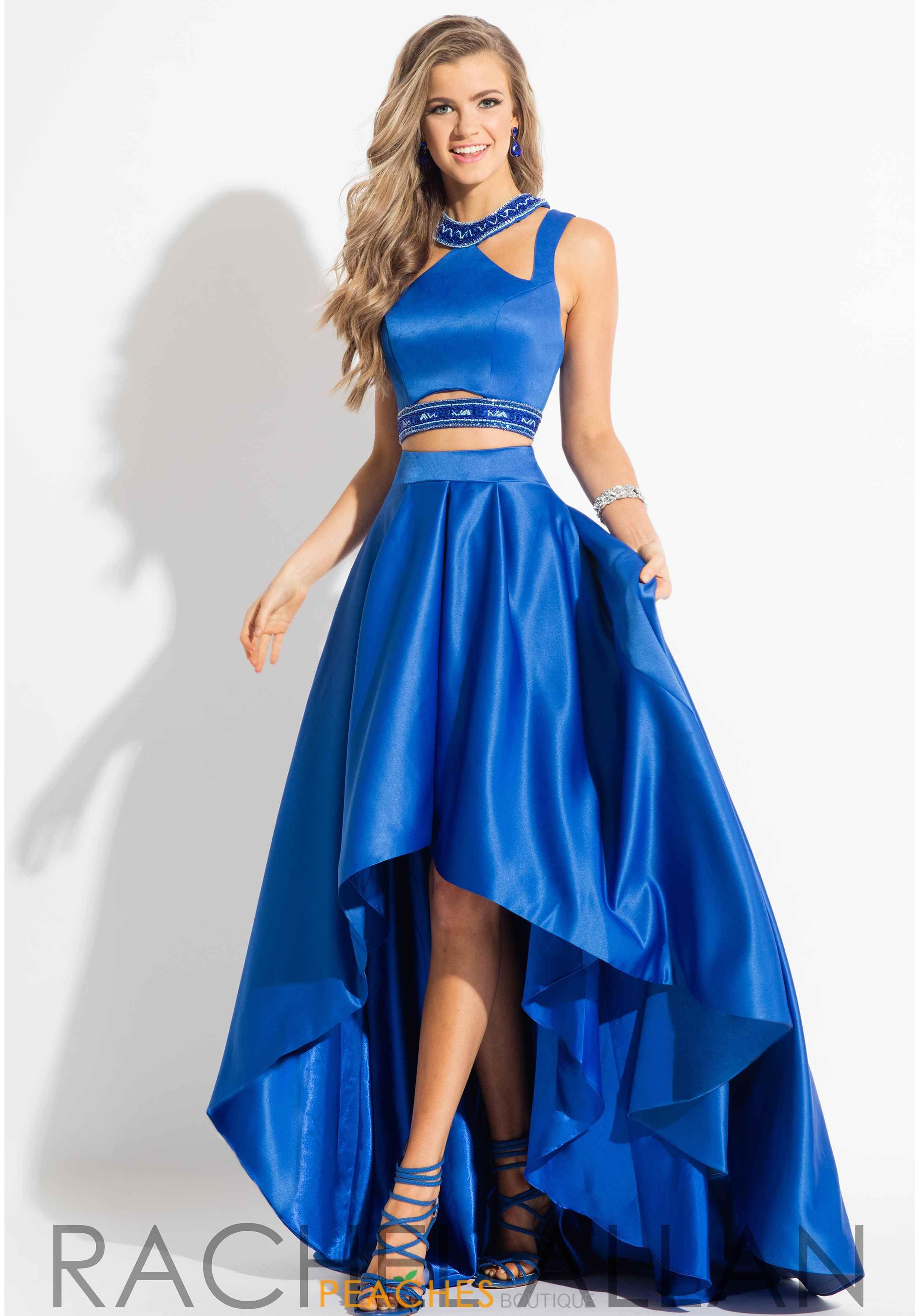 Rachel Allan Prom Dresses Peaches Boutique Piece Prom Dress Elegant Wedding Guest Dress Ball Dresses [ 3594 x 2500 Pixel ]