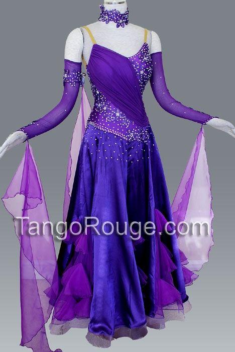 653daa0c7 sooo cute(: Amethyst Ballroom Ruffle Paso Doble Dance Dress   Jump ...