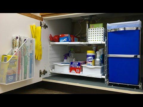 Get Organized: Under the Kitchen Sink