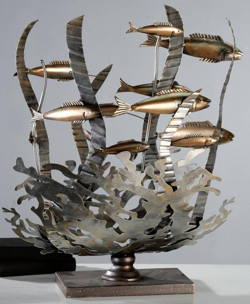 """Casablanca Design Objekt """"Korallenriff"""" aus Metall"""
