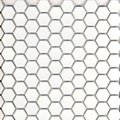 """1"""" hex tile in matte white: tilehaus (with images)   hex"""