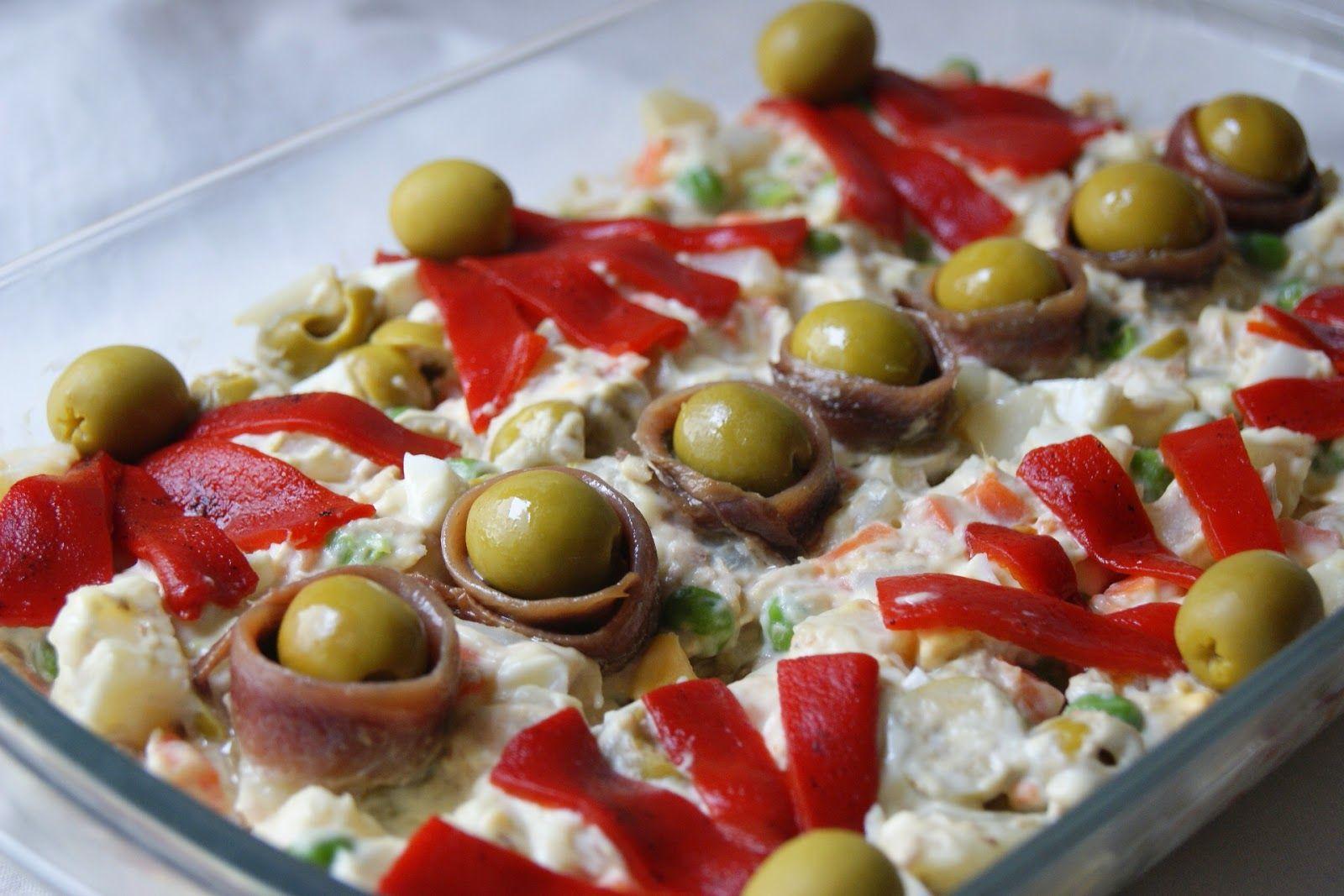 Anna recetas fáciles: Ensaladilla rusa | cocina | Pinterest | Anna ...