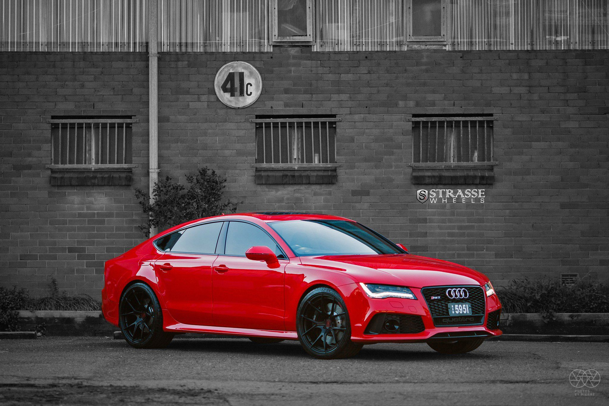 Customized Candy Red Audi S7 Quattro Steals Your Attention Red Audi Custom Candy Audi