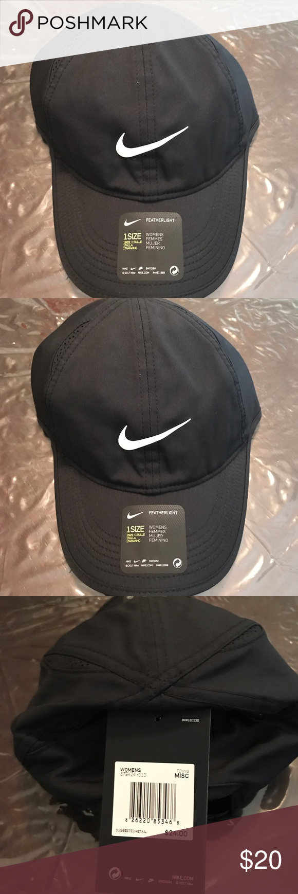 deb650af32c Women s Nike Featherlight Dri-FIT Hat Women s Nike Featherlight Dri-FIT Hat  Nike Accessories