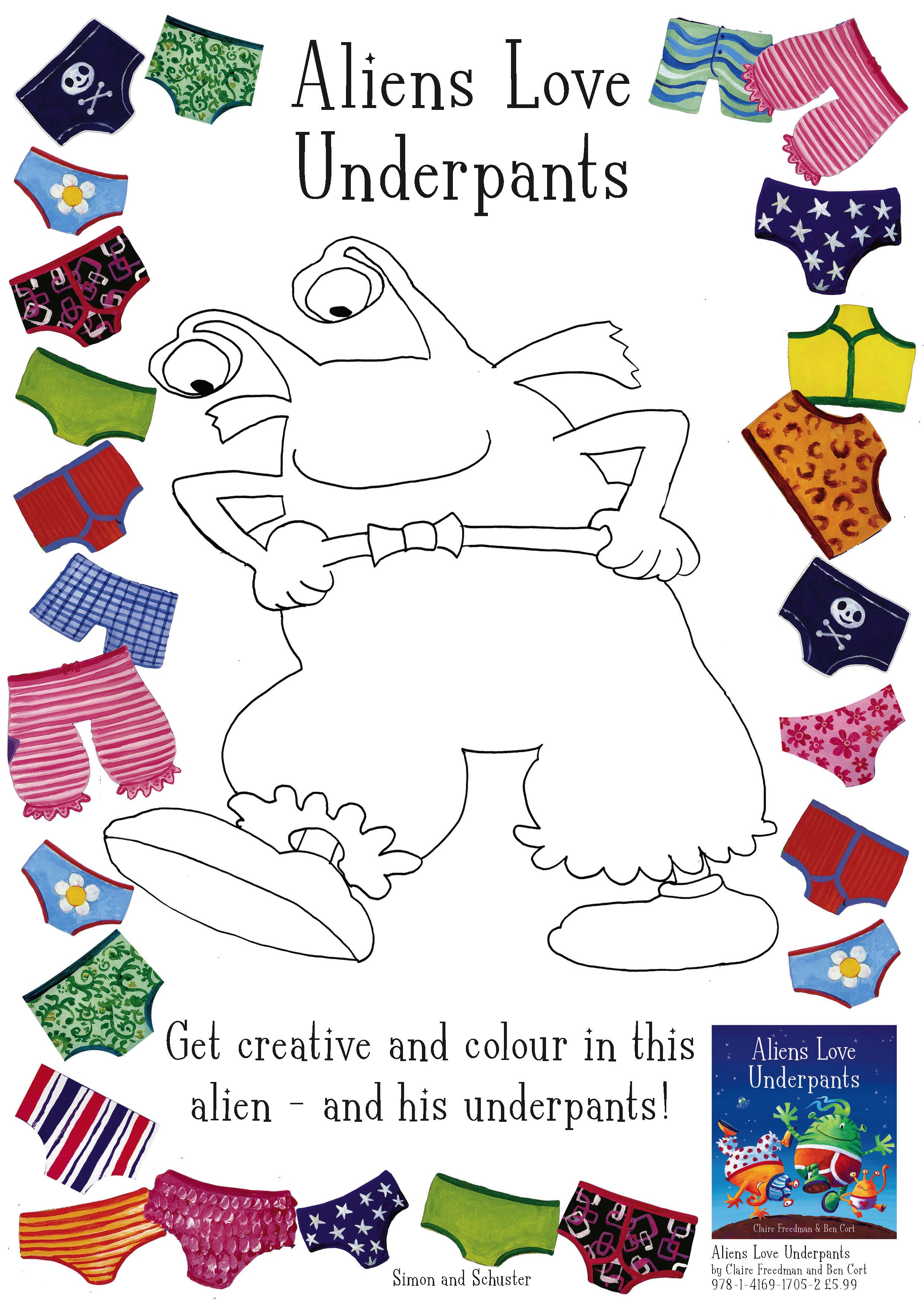 Colouring In Activity Provided By Scholastic Book Club