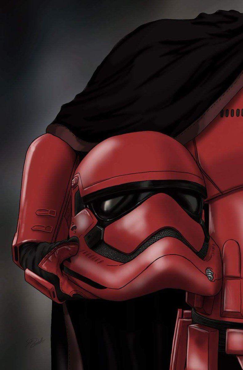 Captain Cardinal Star Wars Helmet Star Wars Trooper Star Wars Poster