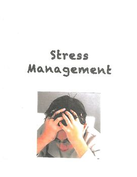 Fantastic stress management activities and worksheets that go along with the stress management curriculum found in