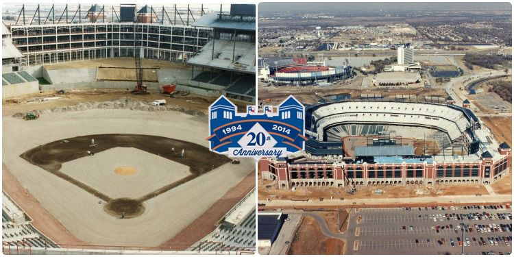 Inside & outside of the ballpark is almost complete.