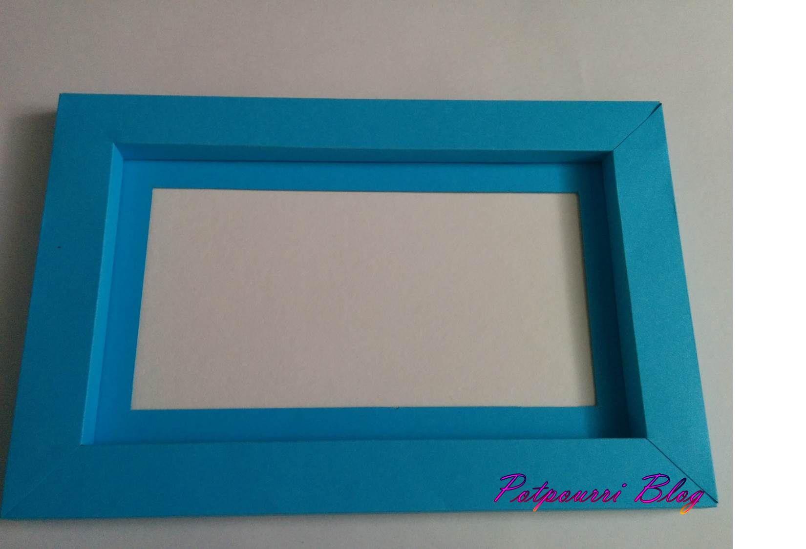 Tutorial: Cardboard frame | Pinterest