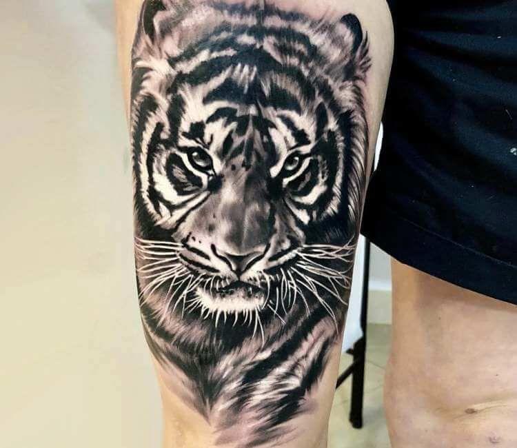 Tiger Tattoo By Bejt Tattoo Post 21700 Tiger Head Tattoo Tiger Tattoo Sleeve Tiger Eyes Tattoo