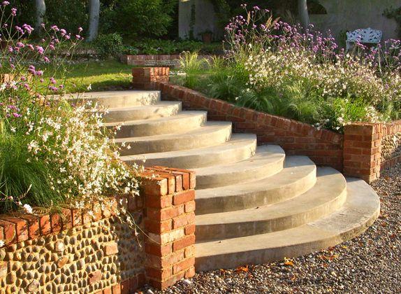 Gardening Features Sue Townsend Garden Design Cool Truck Color Garden Design Garden Garden Steps