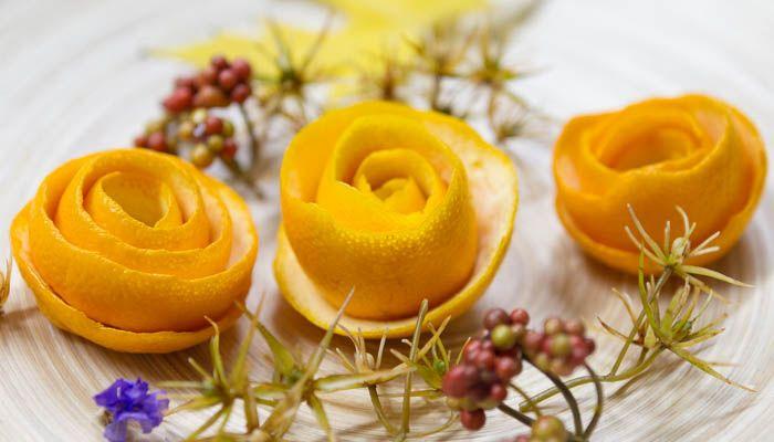 Duftende orangenbl ten pflanzen deko for Billige dekoartikel
