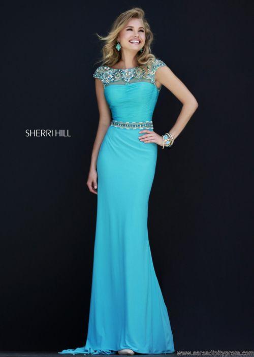 Blue Jasmine Prom Dress, Sherri Hill   Blazing Blues   Pinterest ...