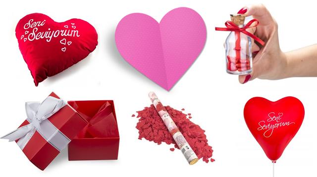 Sevgiliye Hediye Kutusu Hazırlama Sevgiliye Hediye Cards Ve