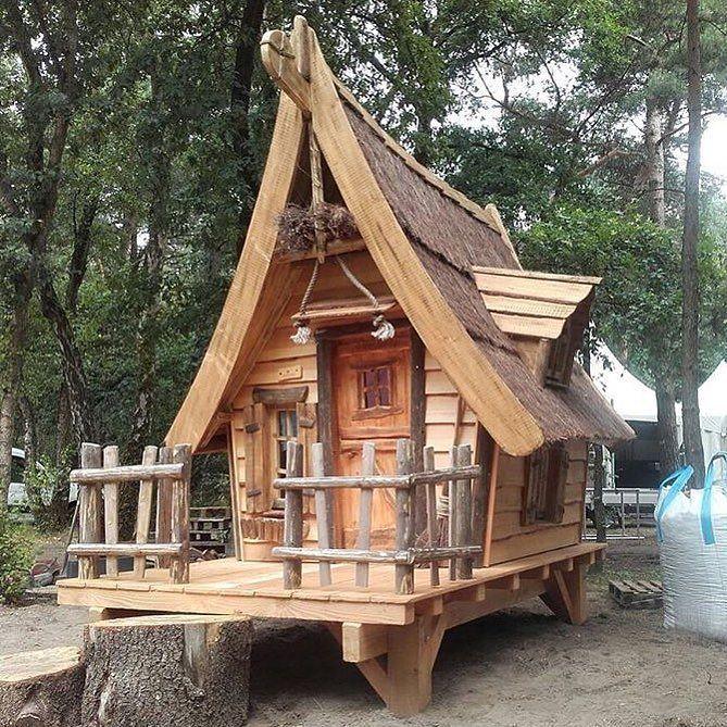Садовый дом-шалаш - Хобби портал