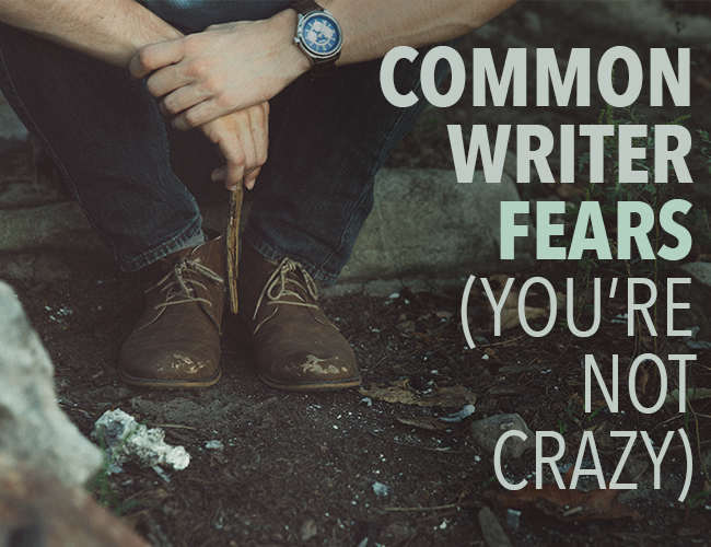 At some point, you'll feel crazy for being a writer. Take heart: all writers…