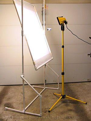 Studio Lighting   Soft Panel Frame Designed For Hotlight | DIYPhotography .net Ideas