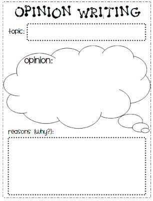 Opinion Writing Writing Graphic Organizers Graphic Organizers Persuasive Writing Graphic Organizer