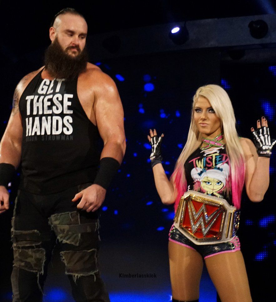 Image result for braun strowman and alexis bliss