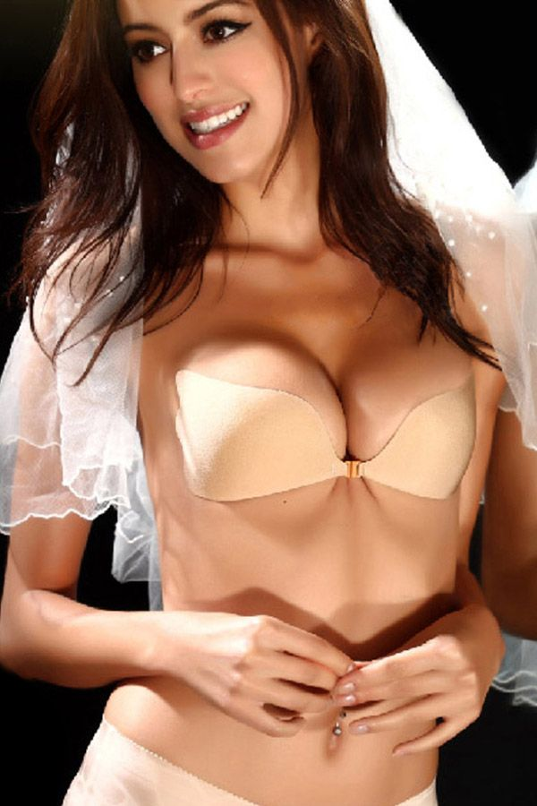 0cd551b8c0b check out this classic N-Gal Stick-on Wing shape Strapless Bra. Wide