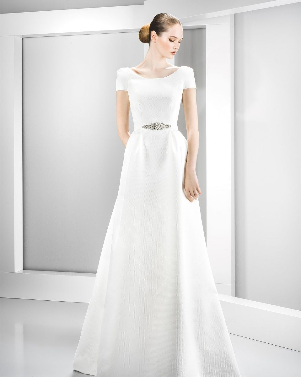 Jesus peiro collectie een overweldigend mooi trouwkleed