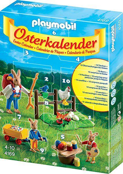 playmobil 4169  osterkalender  ostern kalender