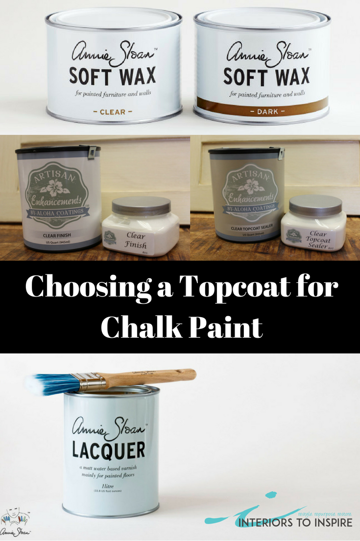 It S A Good Idea To Protect Your Beautiful Chalk Paint Finishes With A Sealer Or Topcoat But With So Ma Chalk Paint Wax Best Chalk Paint Chalk Paint Finishes