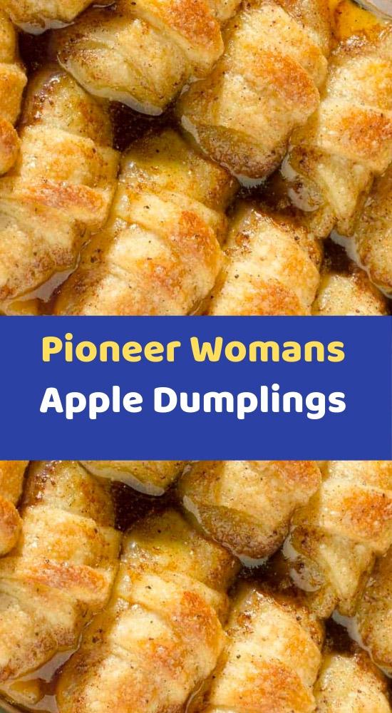 Pioneer Woman Dessert Recipes Apple Dumplings / Pioneer Woman's Apple Dumplings   Recipe in 2020   Apple ... : this recipe features apples stuffed ...