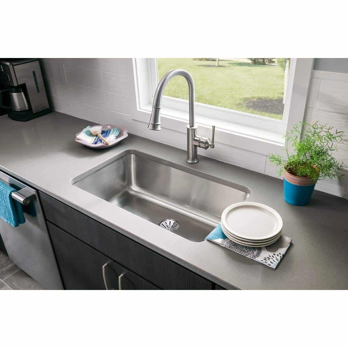 Elegant Picture Of Ceramic Kitchen Sinks Pros And Cons Top 10 Best Single Bowl In 2018 Reviews Ers