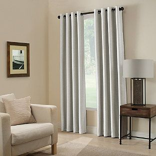 Paradise 84 Inch Room Darkening Grommet Top Window Curtain Panel In Spa In 2019 Panel Curtains Window Curtains Room Darkening