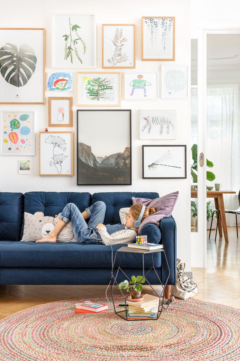 Micasa Wohnzimmer Mit 3er Sofa SEIFERT U0026 Beistelltisch DIEM