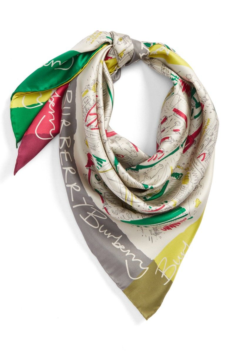 London icons Scarf