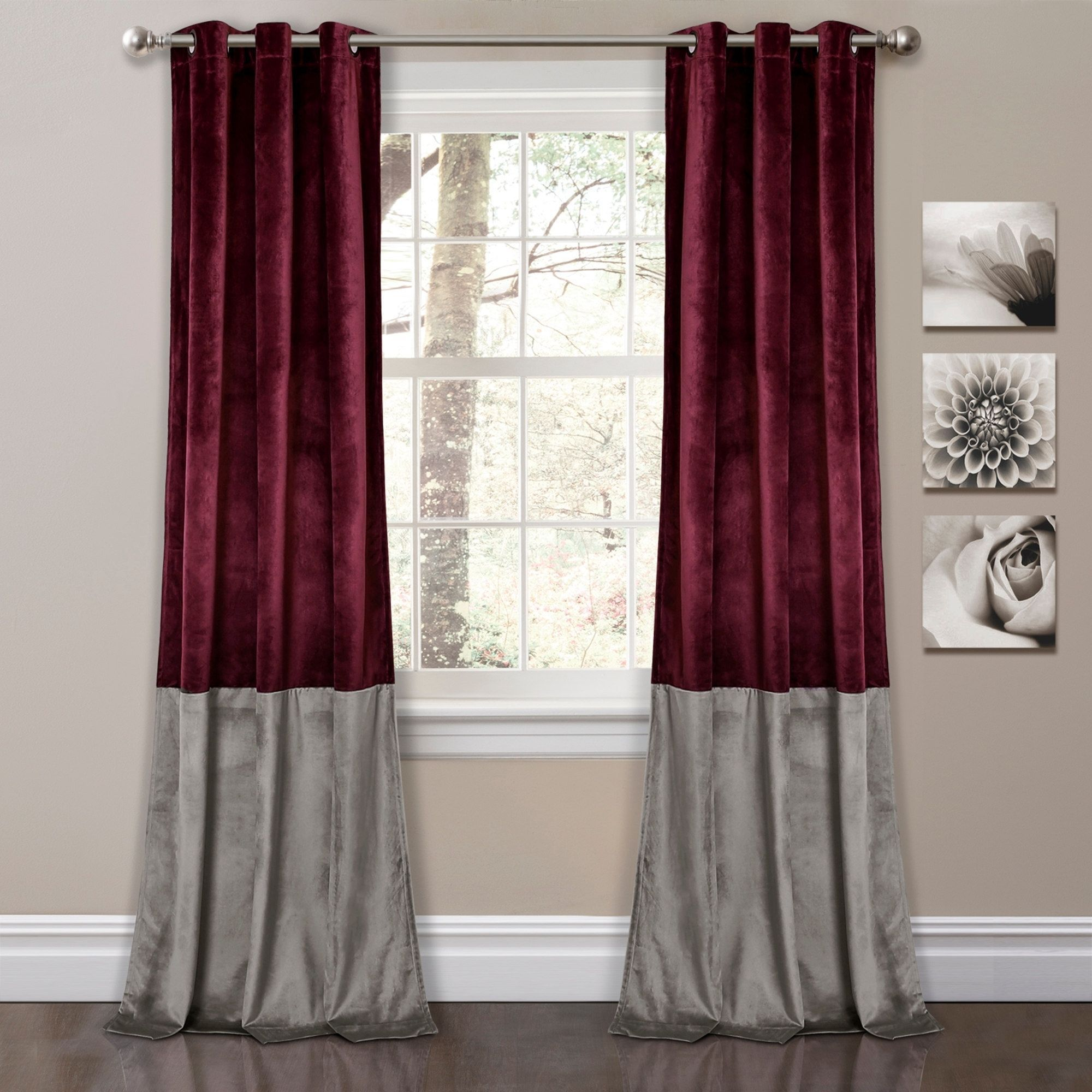 window ideas various pink curtains bedroom room rooms cute print curtain darkening drapes plum purple sheers for silver and or