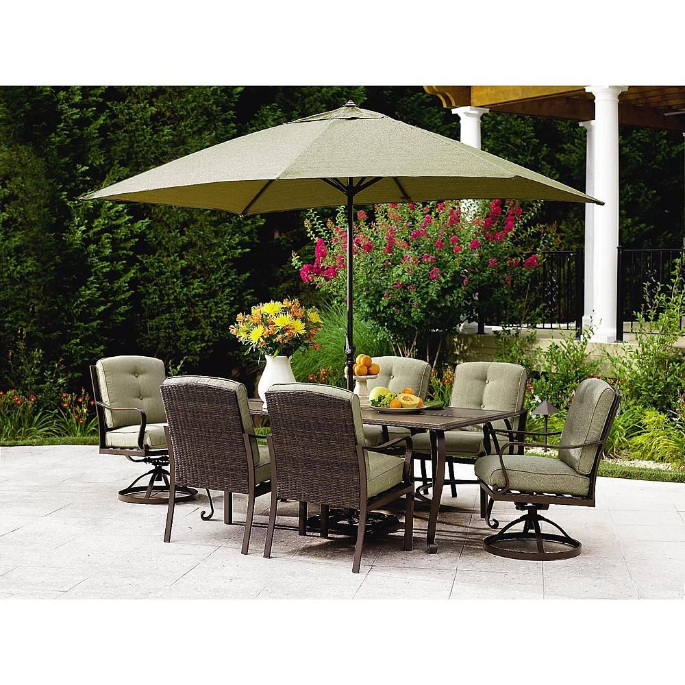 Peyton Outdoor Dining Set: Entertain Outdoors In High Styleu2013Sears