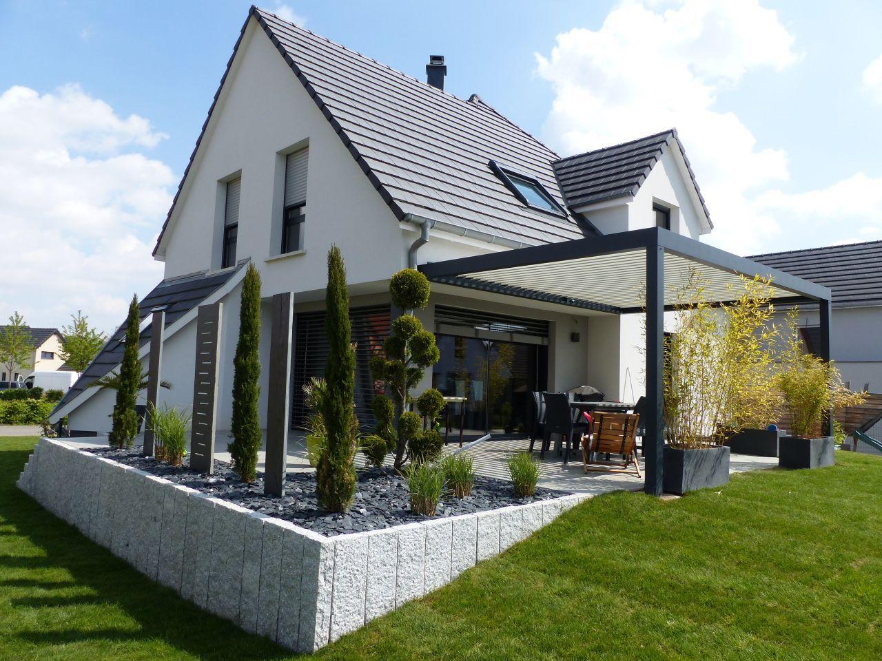 Pergola Bioclimatique Maison D Architecte Duttlenheim Par