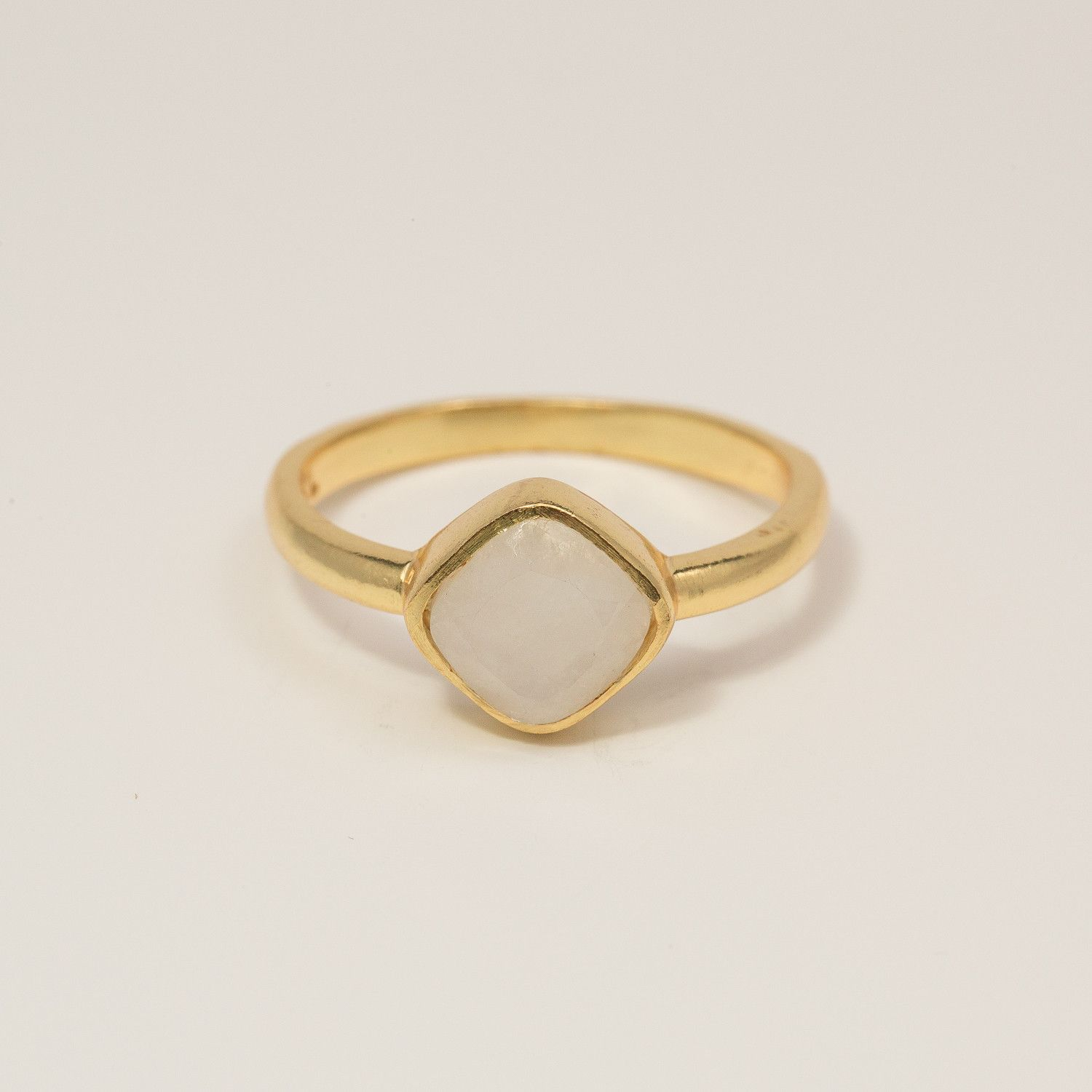Floating Ring with Moonstone