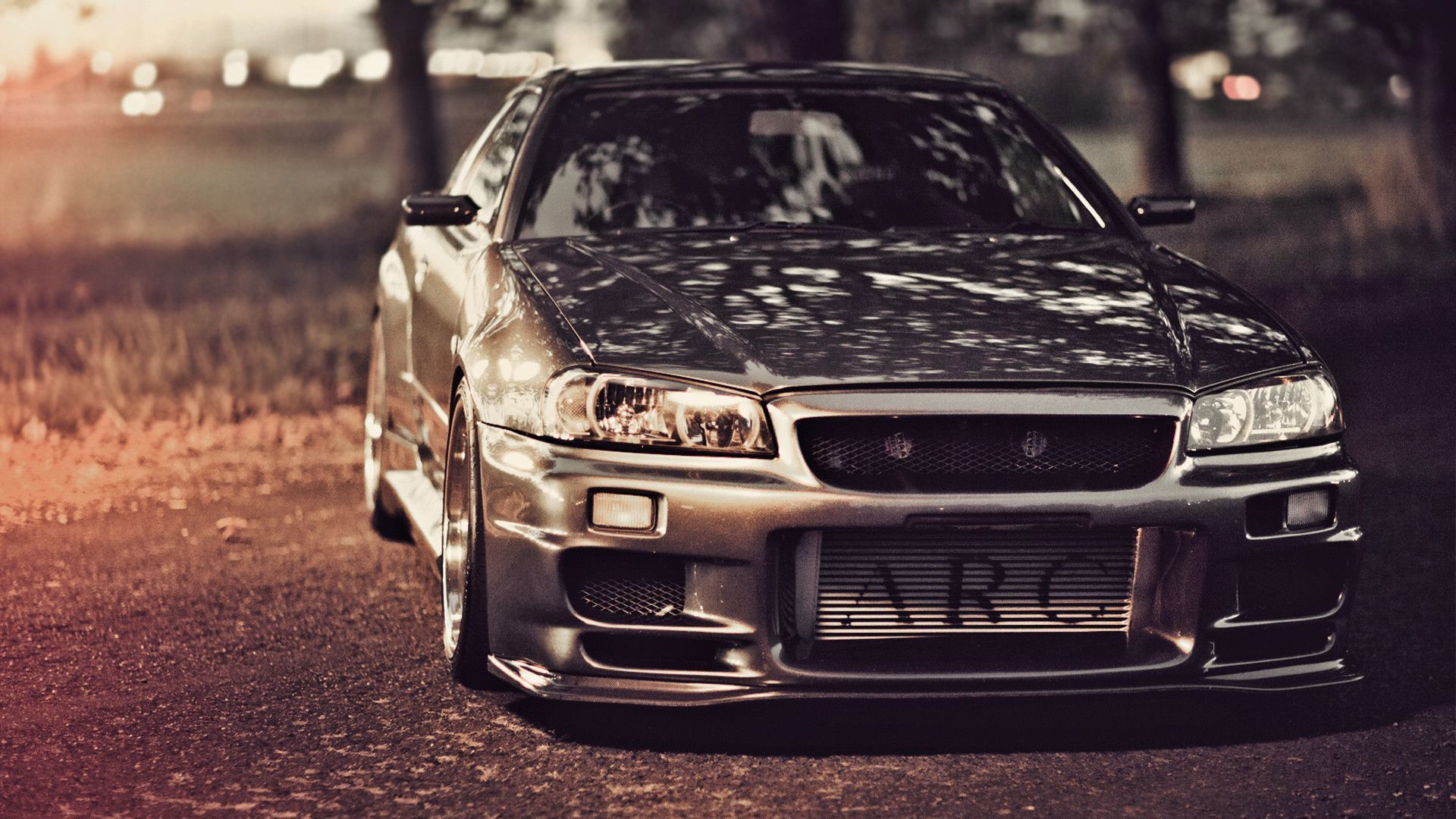 Wallpapers Nissan Skyline Gt R R34 Nissan Tuning Road