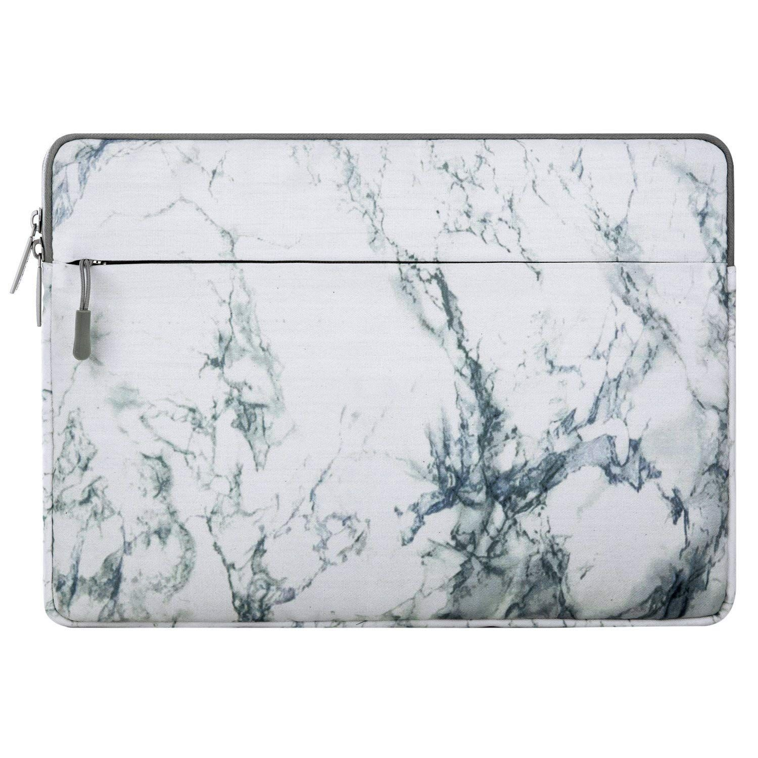 Mosiso Canvas Fabric Laptop Sleeve Case Bag Cover for 13