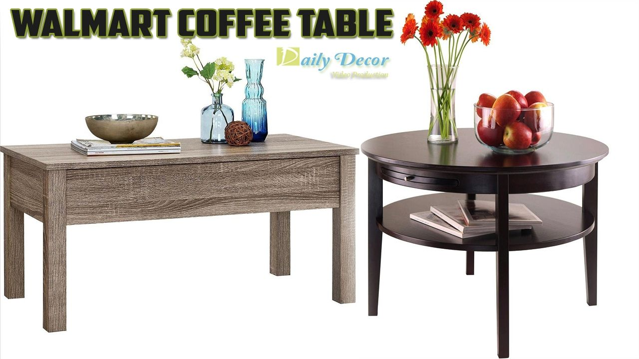 Daily decor walmart coffee table thank you for watching like share