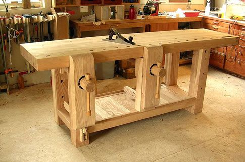 Link to the construction of his bench with photos, text, drawings and even some movies on his blog. All in all, it's a great read and a great resource for anyone seeking to build a fine bench. Click Here for links to the blog listings in the correct time order for your convenience:
