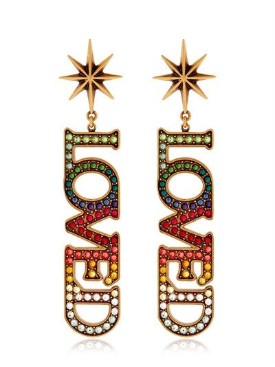 b471ac8d65d GUCCI Loved Crystal Clip-On Earrings