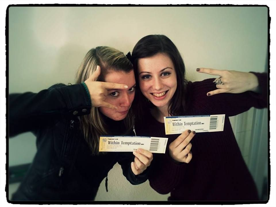 #WTworldtour After five years of listening and loving Within Temptation I am finally going to the concert and with my best friends, who are also huge fans! Can´t wait for March! See you in Prague Within Temptation! :)