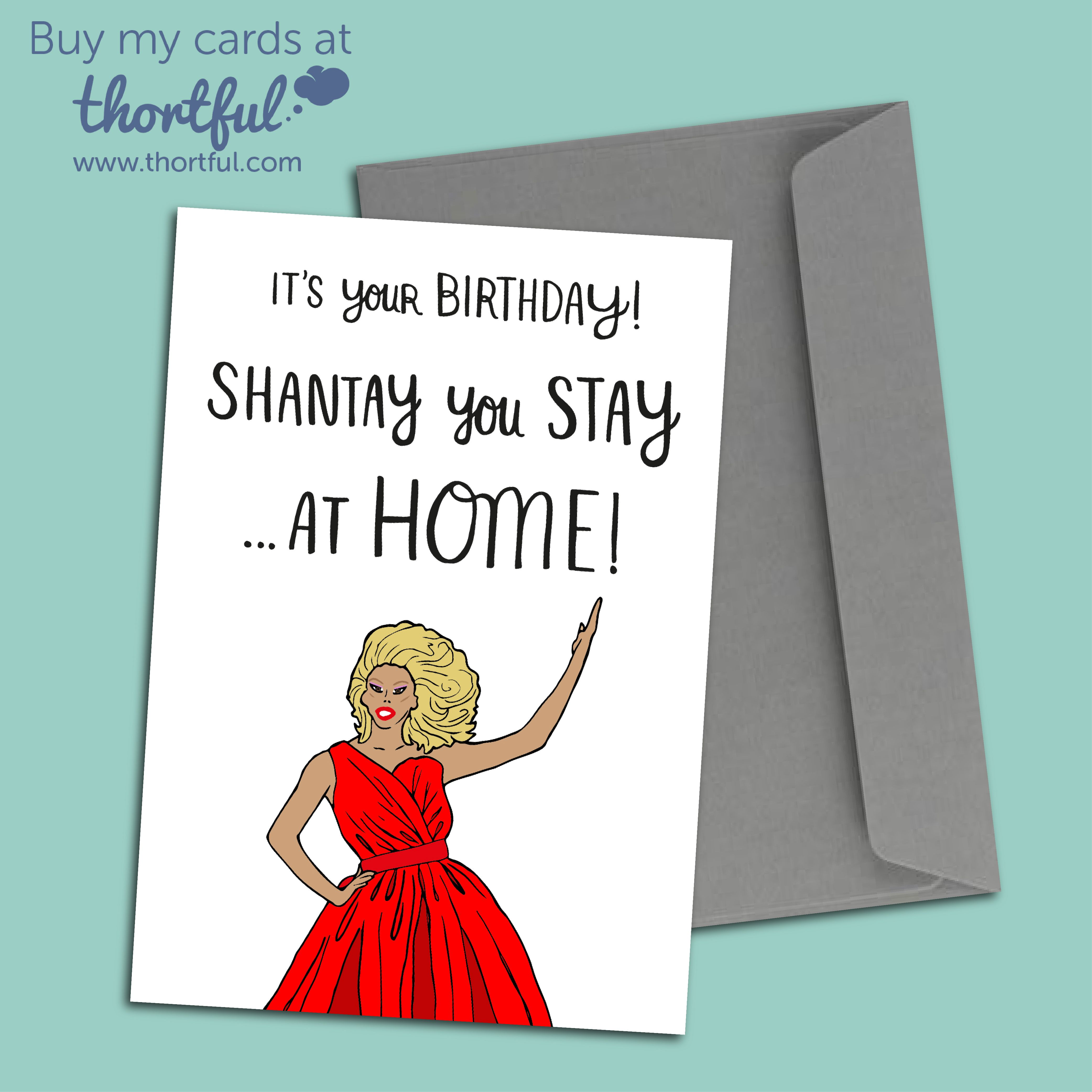 Thortful An Awesome Birthday Card From O What A Feeling Birthday Cards Cards Cool Cards