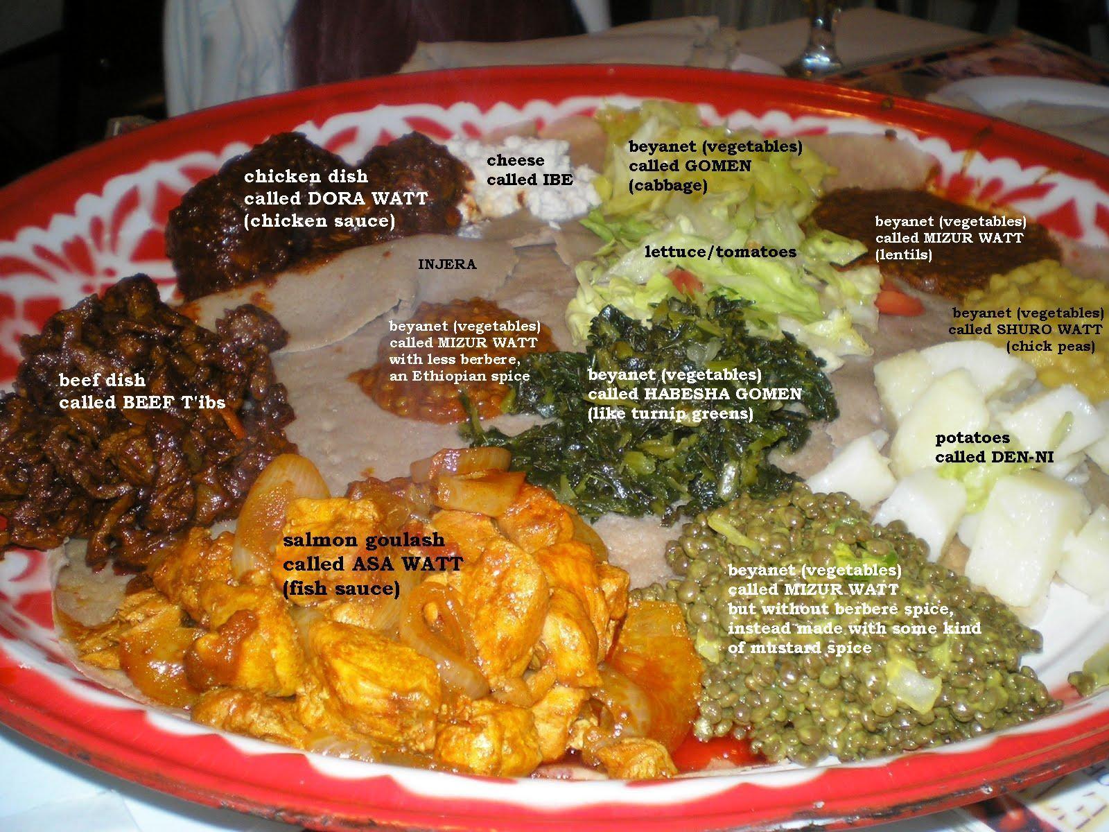 Ethiopian Cuisine | Abyssinia Ethiopian Restaurant ...