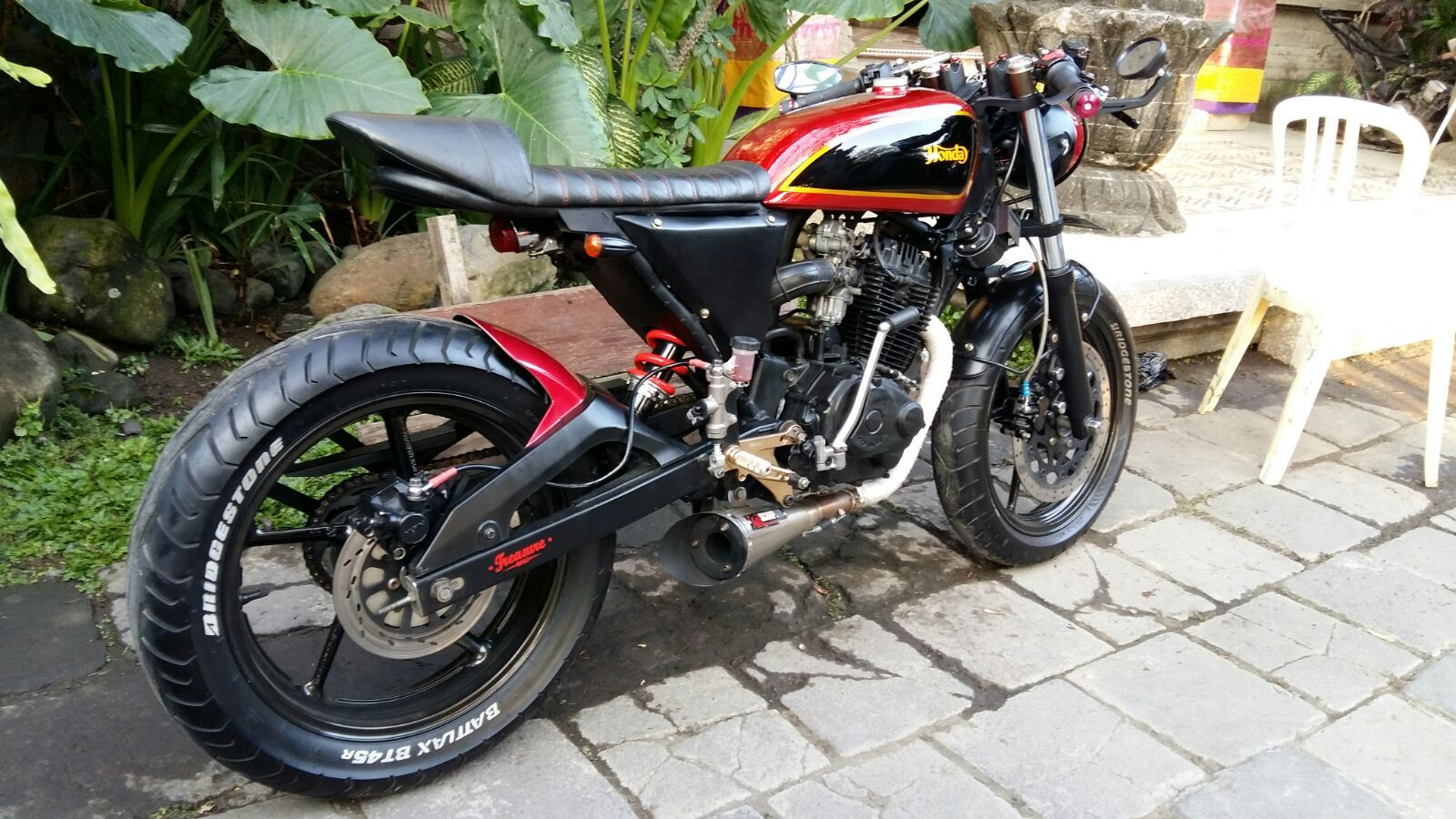 Honda tiger 2000 custom