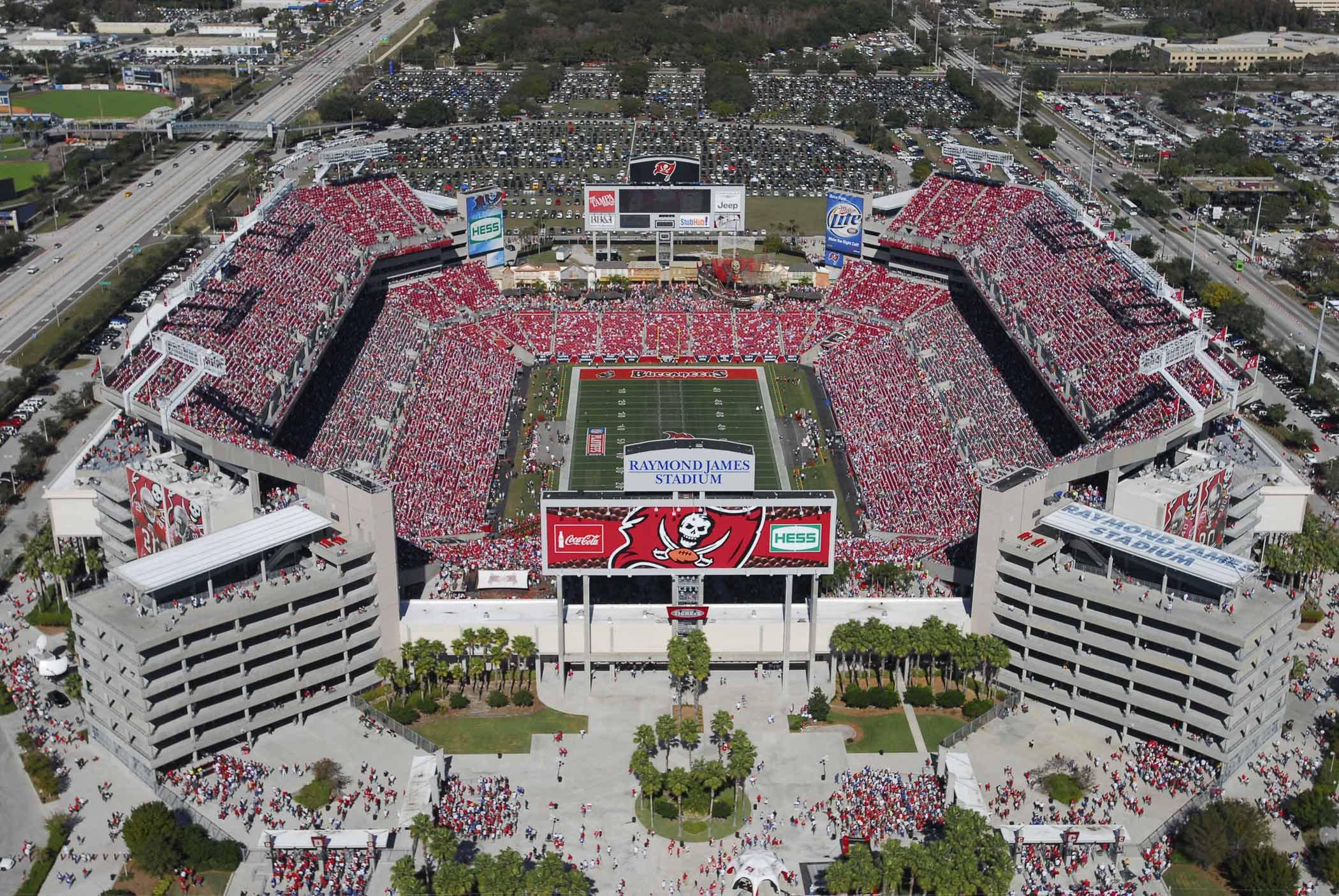 Tampa Bay Buccaneers Raymond James Stadium Tampa Bay Buccaneers Tampa Stadium